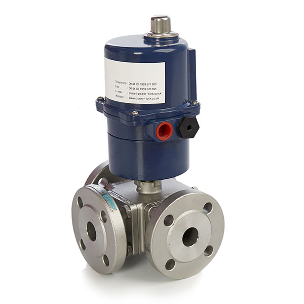 Actuated Ball Valves Electric