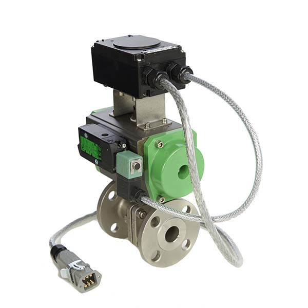 Actuated Stainless Steel Ball Valves