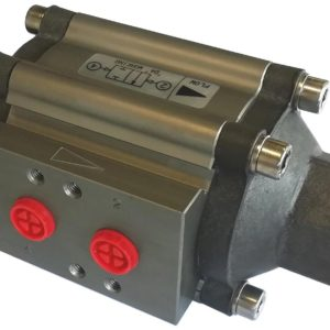 Power-tork Anodised Aluminium Coaxial Valve