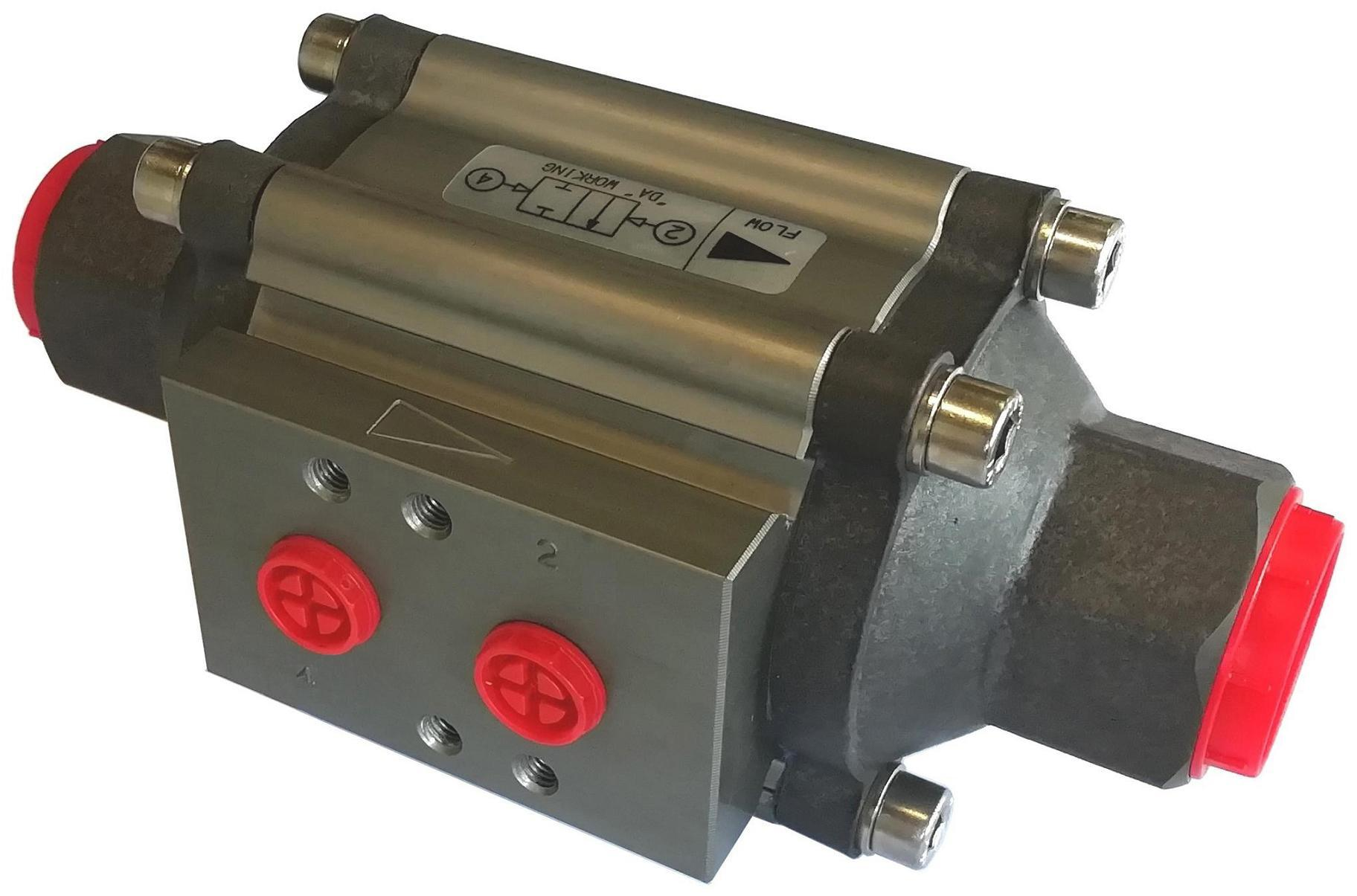 Power-tork Anodised Aluminium Coaxial Valve