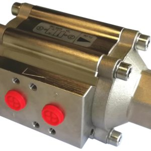 Power-tork Nickel Plated Aluminium Coaxial Valve
