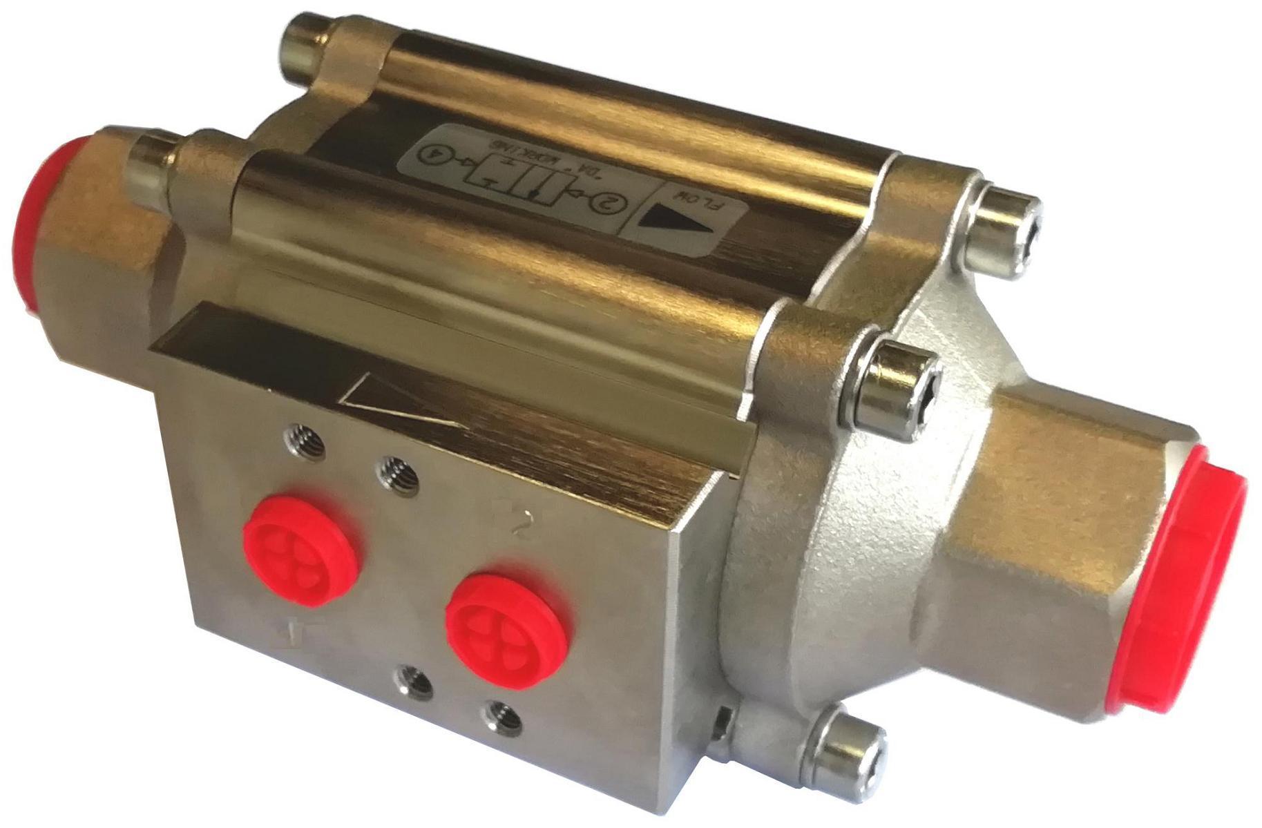 Power-tork Nickel Plated Aluminium Coaxial Valve