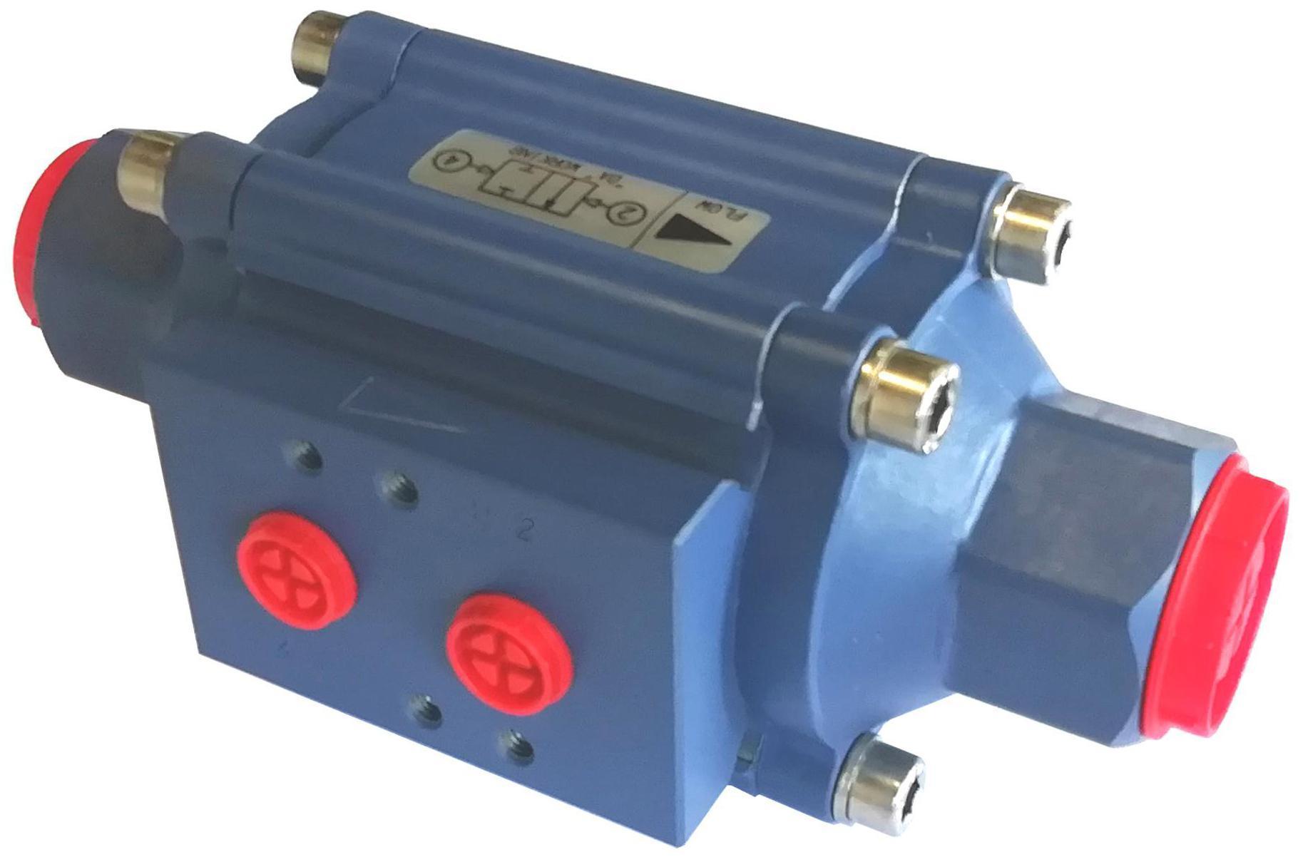Power-tork PTFE Coated Aluminium Coaxial Valve