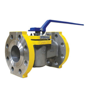 HF Alkylation Plug Valve Stainless Steel Lever Operated