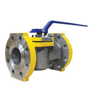 HF Alkylation Plug Valve Stainless Steel Lever Operated