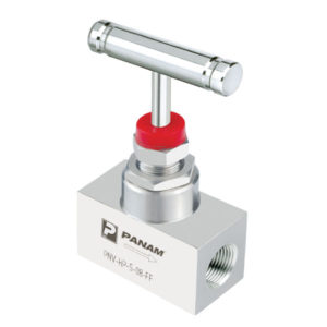 NPT Stainless Steel Needle Valve with T Bar Handle