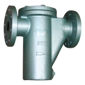 Flanged PN16 Cast Steel Basket strainer with bolted cover