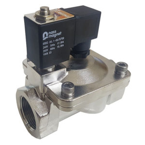 Stainless Steel BSP Screwed 2 Way Solenoid Valve with 240VAC Coil