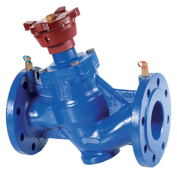 Cast Iron Double Regulating/Balancing Valve Flanged PN16 with Test Points