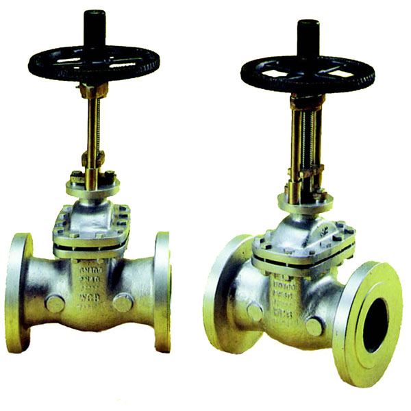Cast Steel Flanged PN40 Parallel Slide Valves with Handwheel