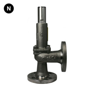 Flanged Right Angle Screwed Safety Relief Valve