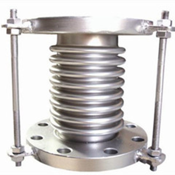 Stainless Steel Expansion Bellows Flanged with Tie Rods