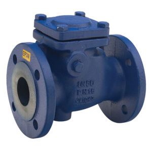 Flanged PN16 Cast Iron Swing Check Valve