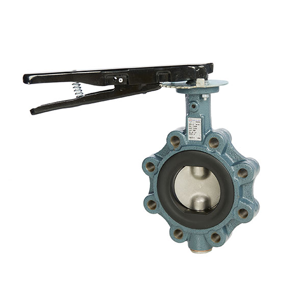Ductile Iron PN16 Lugged & Tapped Butterfly Valve, Manual Lever Operated
