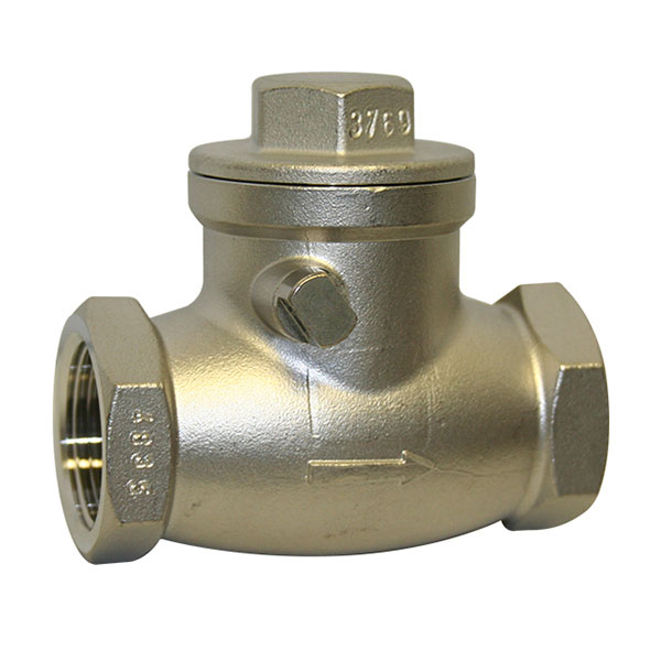 Stainless Steel BSP & NPT Screwed Swing Check Valve