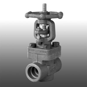 Forged Steel Screwed BSP or NPT Gate Valve
