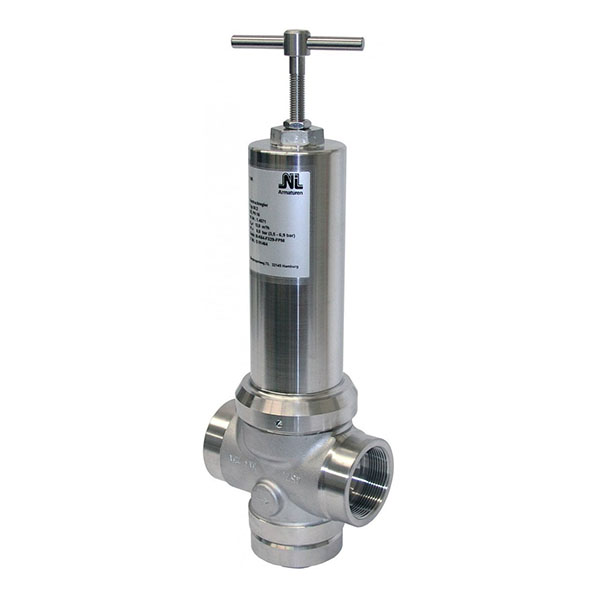 BSP stainless steel pressure sustaining valve