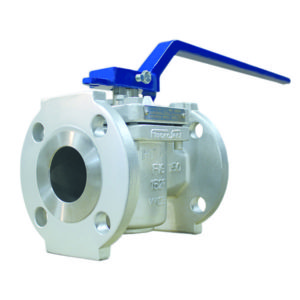Cast Steel Sleeved Plug Valve Flanged with Hand lever