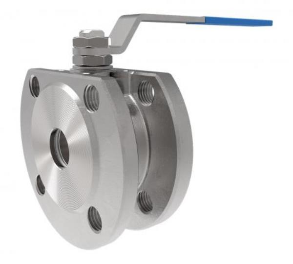 Stainless Steel Wafer Ball Valve PN16 with Handlever
