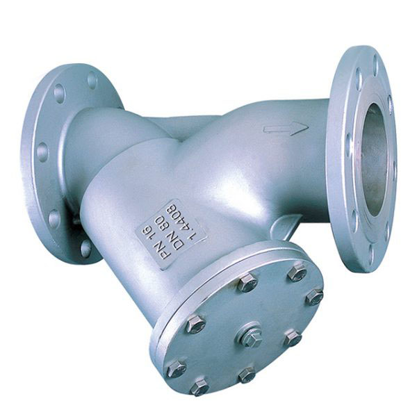 Flanged PN16 Y Strainer Stainless Steel