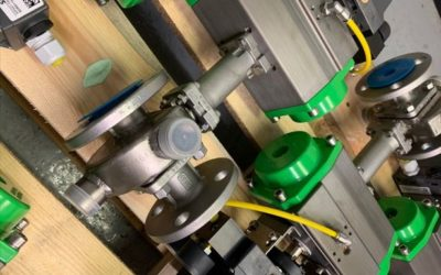 Case Study: V-Ball Control Valves with Steam Jackets & 4-20mA Positioners
