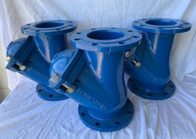 Flanged Ductile Iron Ball Check Valves