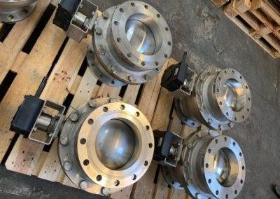 Stainless Steel Trunnion Mount Ball Valves