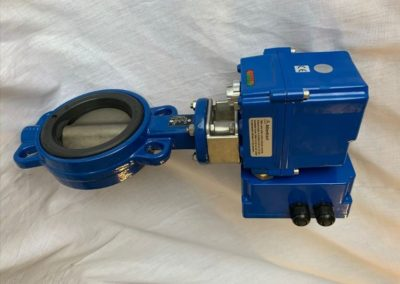 Wafer Butterfly Valve with Electric Actuator