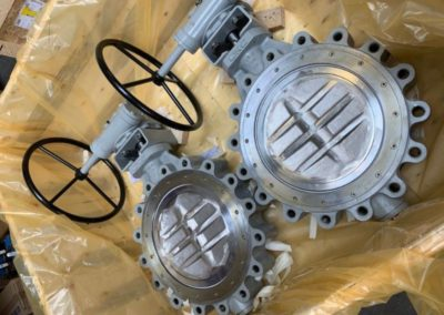 Gearbox Op Stainless Steel High Performance Butterfly Valves