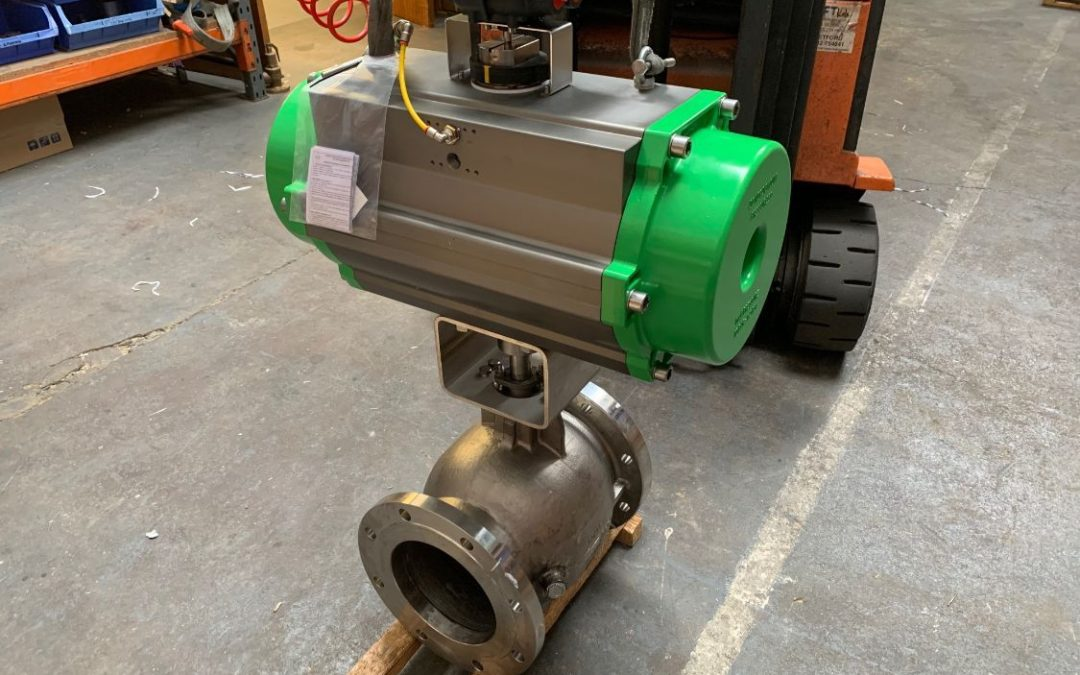 Case Study: Actuated Ball Segment Valve with Steam Purge Points