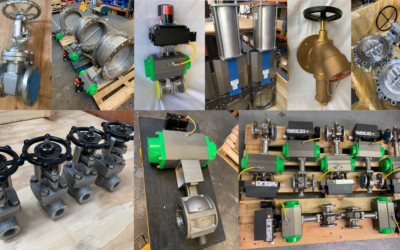 Out of the door: What valves we have been supplying to clients this Spring