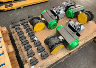Carbon Steel Control Ball Valves and Piston Check Valves
