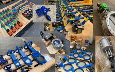 Out of the door: What valves we have been supplying to clients this Summer